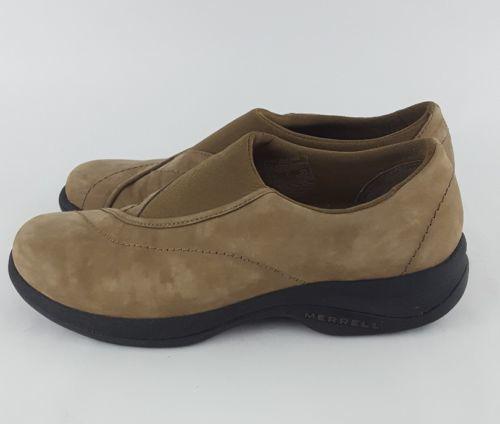 Merrell topo curve stone 8 Beige moc shoes