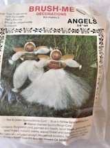 """Brush-Me Decorations """"Angels"""" Ornaments Gift Packages 5-6"""" Tall - $6.92"""
