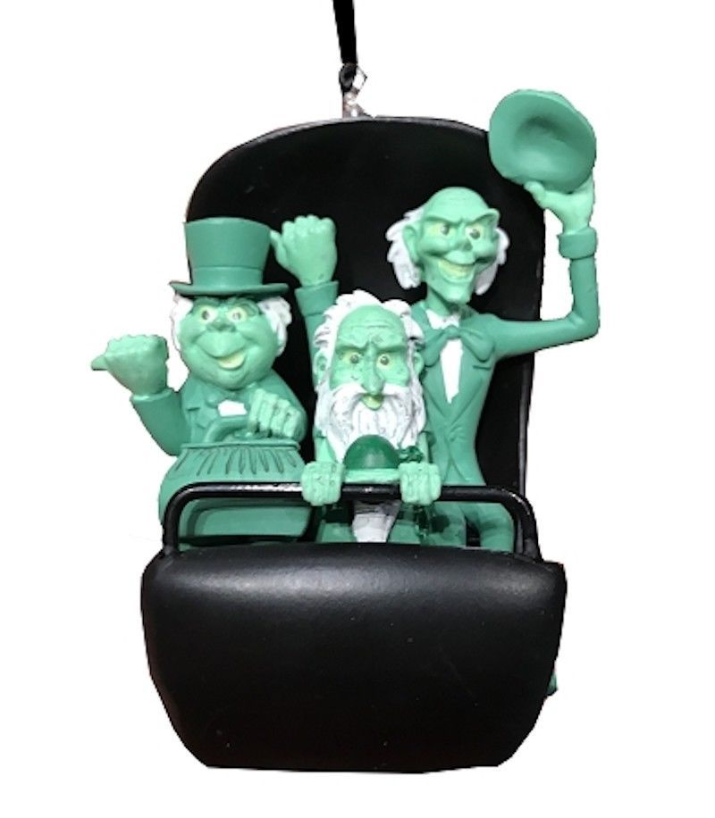 Disney Parks Haunted Mansion Attraction Resin Ornament New with Tags