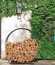 New Home Garden Decorative Pleasant Hearth Log Hoop Free Fast Shipping - $125.73