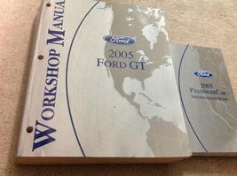 2005 Ford Gt Workshop Service Repair Manual Set W Specifications Booklet Oem 05 - $188.05