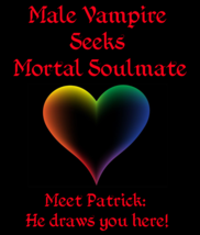 Male Vampire Seeks Mortal Soulmate & Money Power Love Spell - $139.25
