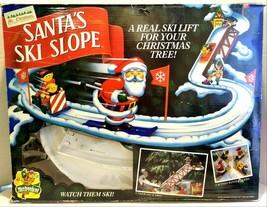 Mr. Christmas Mechanical Collectibles Santa's Ski Slope - $100.00