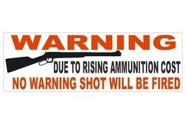 Anti Obama Gun Control Warning Political Bumper Sticker or Helmet Sticke... - $1.39+