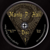 Manly P Hall Set Lot, Lectures Series & Alchemical Manuscripts DVDs+ Boo... - $59.95