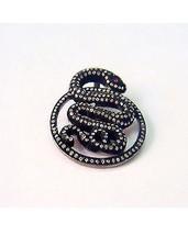 Traditional Vintage Inspir. 2.01Ct. Rose/Antique Cut Diamond Silver Pend... - $388.49