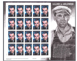 Henry Fonda: Legends of Hollywood, Full Sheet of 20 x 37 Cent Stamps, US... - $9.90