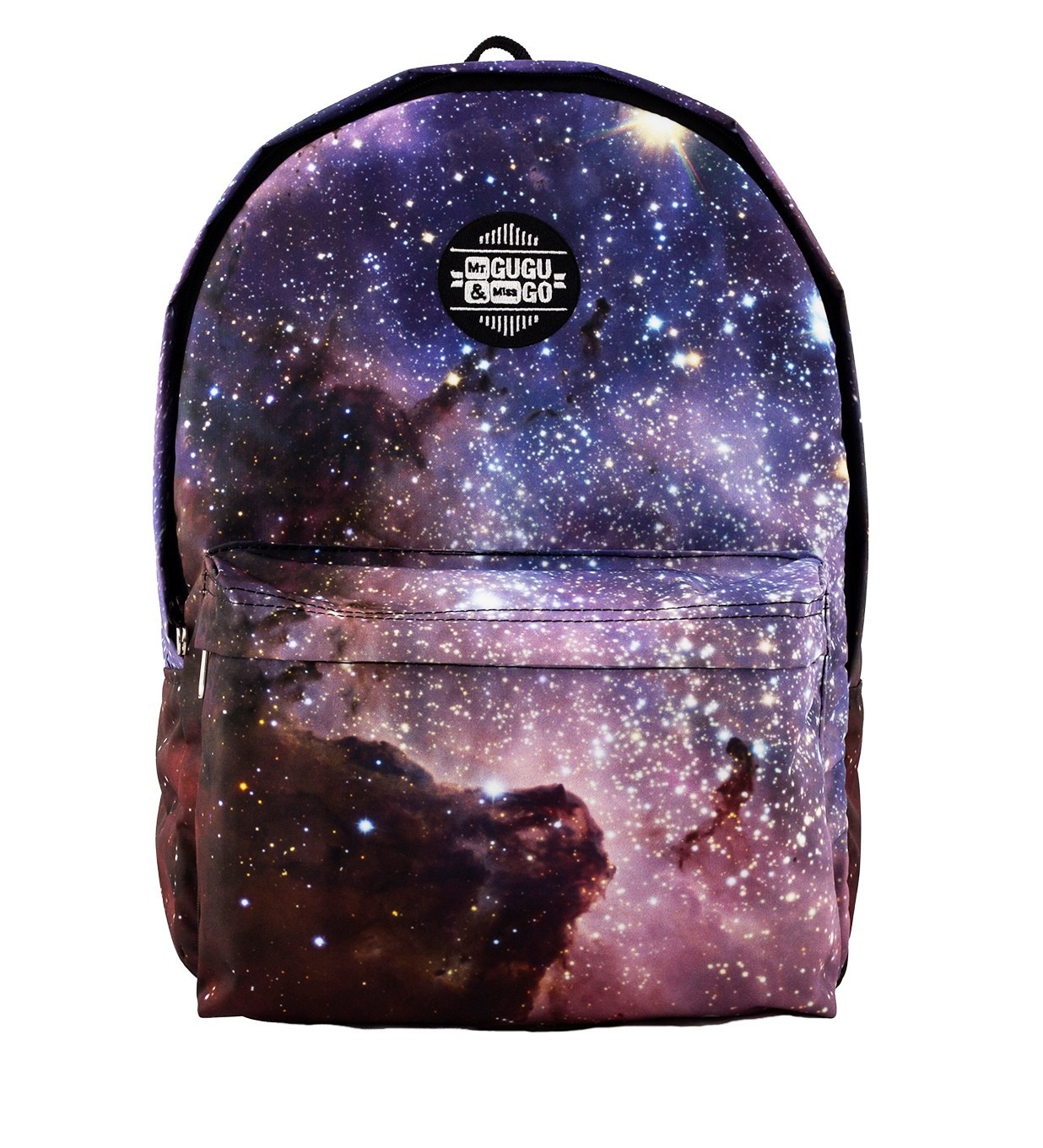 Printed Backpack Galaxy Design | Mr. Gugu & Miss Go