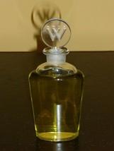 Vintage WEIL Paris Factice Bottle with Glass Stopper - 3 1/5 FL. oz - Ve... - $34.00