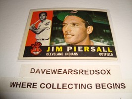abc22a3395 Jim Piersall 1960 Topps #159 Baseball Card Ex Condition Cleveland Indian...  - · Add to cart · View similar items