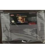 Tecmo Super Bowl Custom English Super Nintendo SNES - $18.00