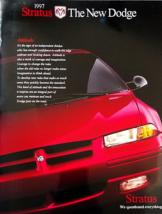1997 Dodge STRATUS sales brochure catalog US 97 ES - $6.00