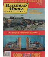 Railroad Model Craftsman Magazine May 1980 Trackplanning/ Layout Buildin... - $2.50