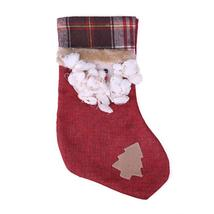 (01)New Year Christmas Stocking Decorations Commodity Gift Bag Stocking ... - $16.00