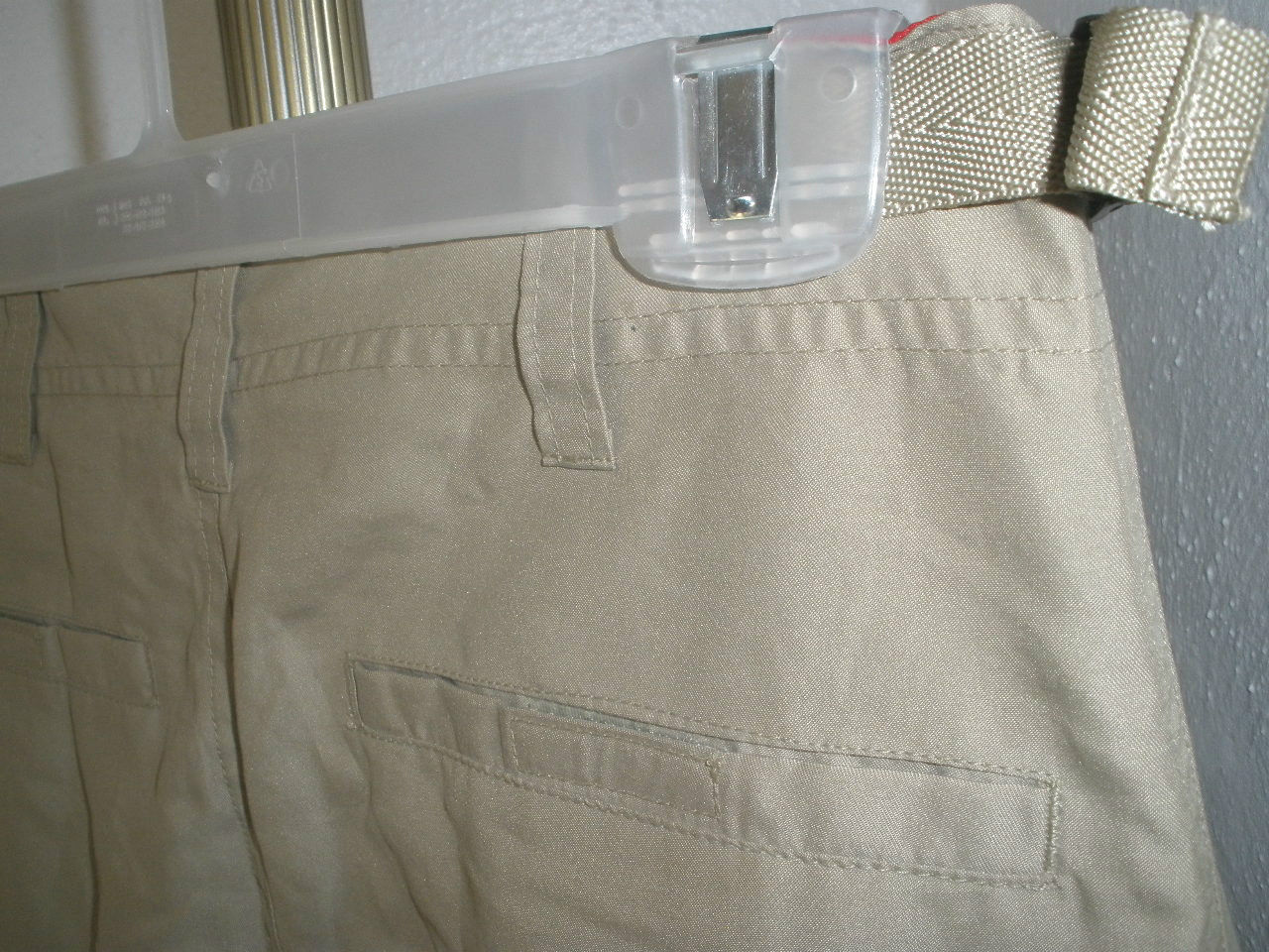Kids GAP Adjustable Length Teflon Polyester Air Service Type Detail Pants Sz XL image 5