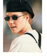 Jonathan Brandis teen magazine pinup clipping with a puppy 90's sunglass... - $15.00