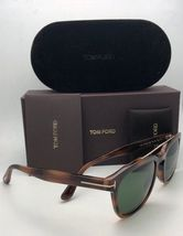 New TOM FORD Sunglasses HOLT TF 516 53N 54-19 145 Tortoise & Gold w/Green Lenses image 5