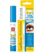 Eveline Lash Therapy 8 in 1 Total Action Eyelash Serum Hyaluron & Argan ... - $11.87