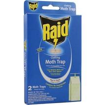 PIC CMOTHRAID Raid Clothing Moth Trap, 2 pk - $21.52