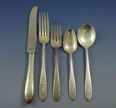 Margaret Rose by National Sterling Silver Flatware Set Dinner Service 43... - $2,100.00