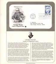 George Meany, Vintage, USPS Stamp, 1st Day of Issue, USPS Collectible St... - $2.75
