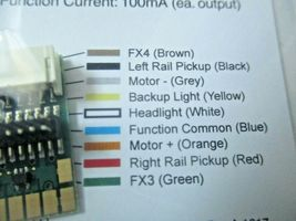 Soundtraxx 810135 9-Pin JST to NMRA 8-Pin Wiring Harness image 3