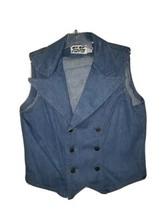 Women's Vintage Mizz Lizz Denim Vest - $15.00