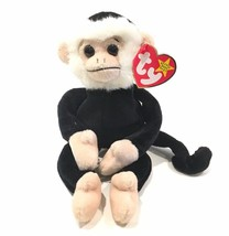 Ty Beanie Baby Mooch Monkey 1998 Mint Condition Error On Tags - $18.99