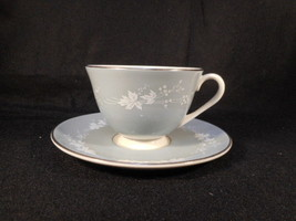 Vintage Royal Doulton English Bone China Reflection Cup and Saucer - $24.70