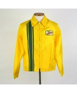 Vtg 70s Dekalb Swingster Jacket Windbreaker Mens M Bomber Zip Up Racing ... - $29.69