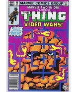 Marvel Two in One #98 ORIGINAL Vintage 1983 Comic Book Thing Video Wars - $9.89