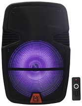 "Mr. Dj 12"" 2000W Battery LED Accent Bluetooth FM MP3 USB Portable Radio ... - $129.99"