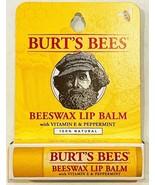 Burt's Bees Beeswax Lip Balm with Vitamin E & Peppermint - $5.89