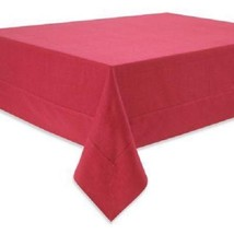 Waterford Addison Tablecloth RED 70 X 126 Rectangular NEW - €56,07 EUR