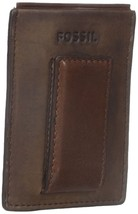 Fossil Max Magnetic Credit Card Case, ML3739200 Leather Brown - ₹1,929.89 INR