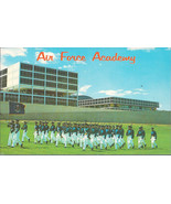 Cadets On Parade U. S. Air Force Academy, Colorado Postcard - $2.00