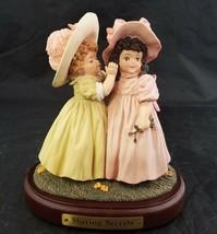 Maud Humphrey Bogart Figurine Sharing Secrets 9456/15000, Girls 1991 Ham... - $29.02