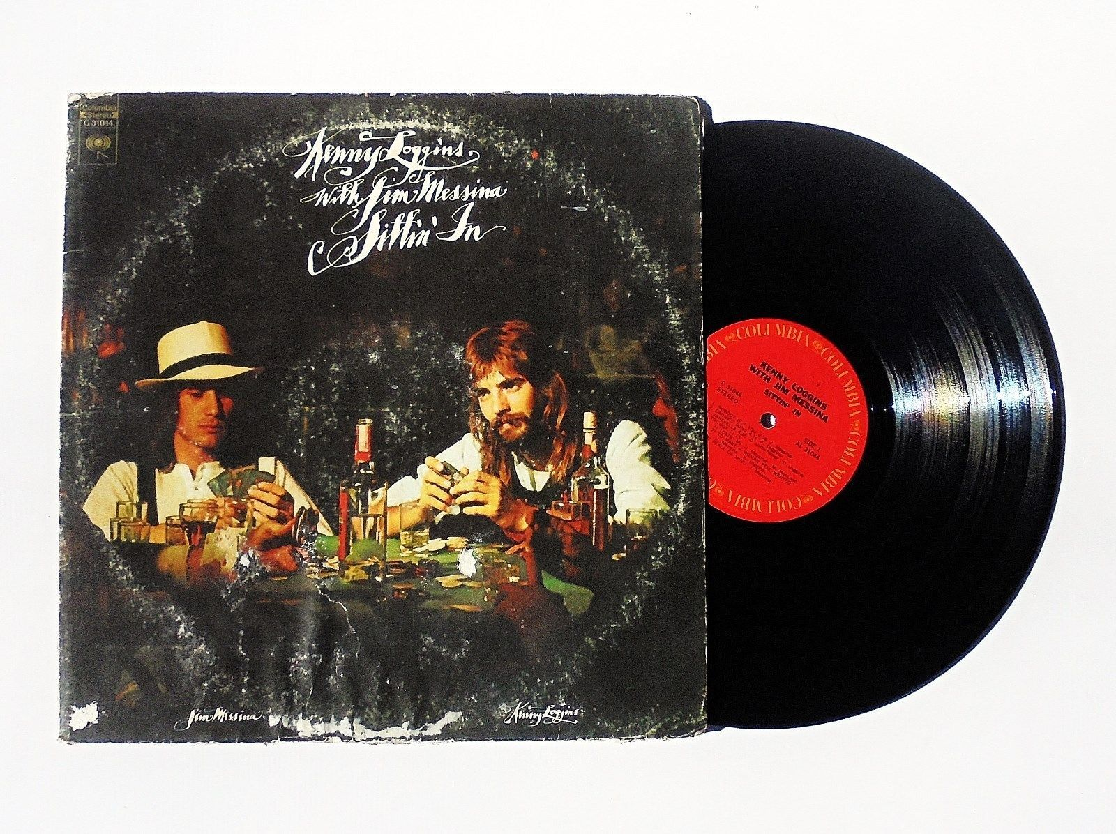 Kenny Loggins with Jim Messina: Sittin' In Vinyl Record Album (1971, Columbia)