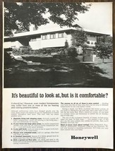 1964 Honeywell Print Ad Beautiful to Look At But is it Comfortable Great... - $10.79