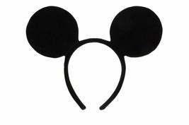 Walt Disney Mickey Mouse Velvet Ears with Headband Costume Accessory, NE... - $9.74