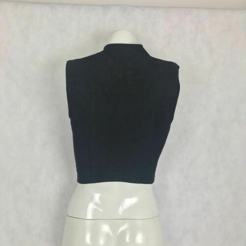 BCBG Maxazria Vest Damien Faux Suede zippers women size XXS image 4