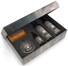 Ultimate Beard Care Conditioner Kit - Beard Grooming Kit for Men Softens, Smooth image 4