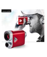 Voice Caddie Compact Gold RangeFinder CL Burgundy Red Color - $599.00