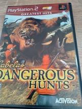 Sony PS2 Cabela's Dangerous Hunts image 1