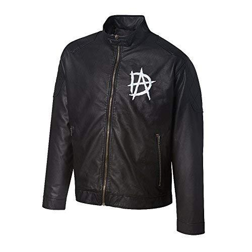 WWE Wrestler Dean Ambrose Black Real Leather Jacket