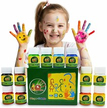 NEW Finger Paint for Kids Toddlers Non-Toxic Washable Kid Paint for DIY ... - $30.27
