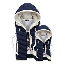 New Men Women Couple Jacket Sleeveless Veste Homme Winter Fashion Casual... - $38.04