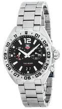 Tag Heuer Formula 1 Black Opalin Dial Men's Steel Watch WAZ1110A.BA0875 - $690.00