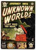 Journey Into Unknown Worlds #12 comic book 1952-Atlas horror-violence-VG/FN - $261.90