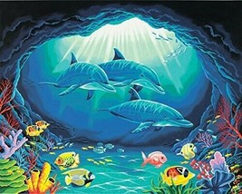 Dimensions Needlecrafts Paintworks Paint By Number - Deep Sea Paradise NEW - $21.99
